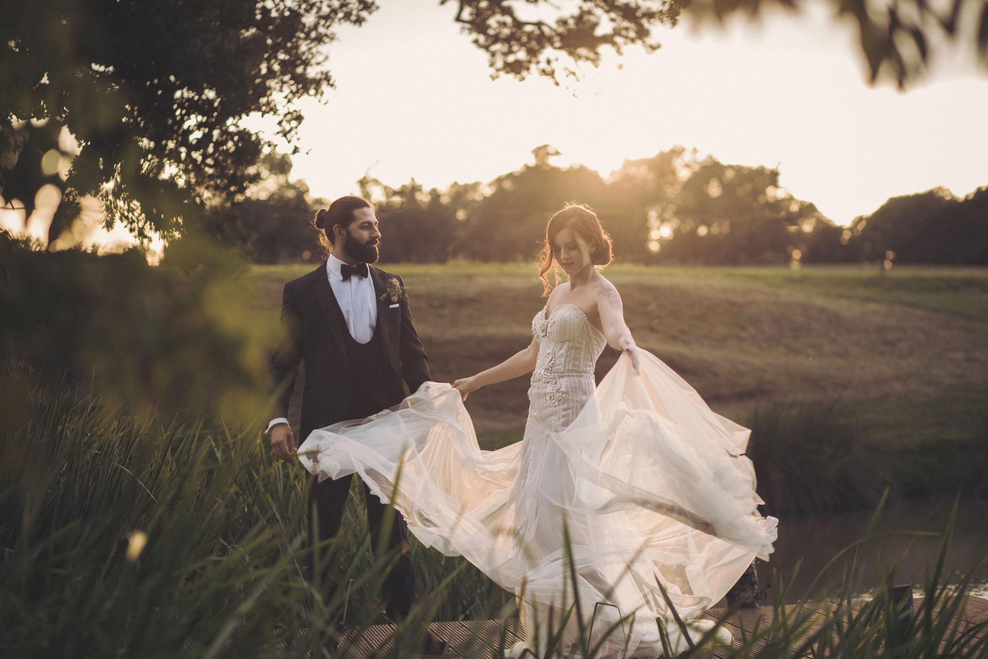 light airy wedding photographer kent