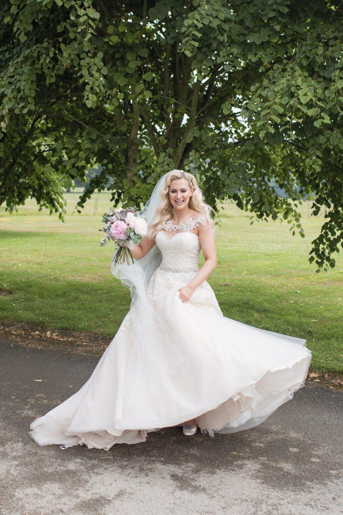 chilston park bride