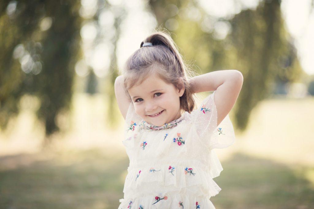 child portraiture soft and light