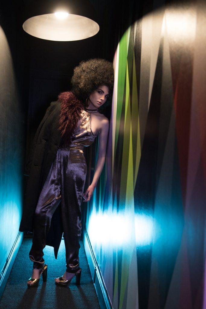 editorial image afro disco
