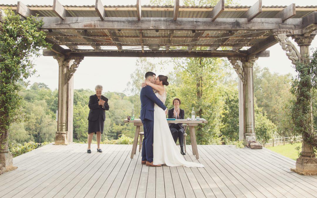 intimate wedding kent beacon tunbridge wells