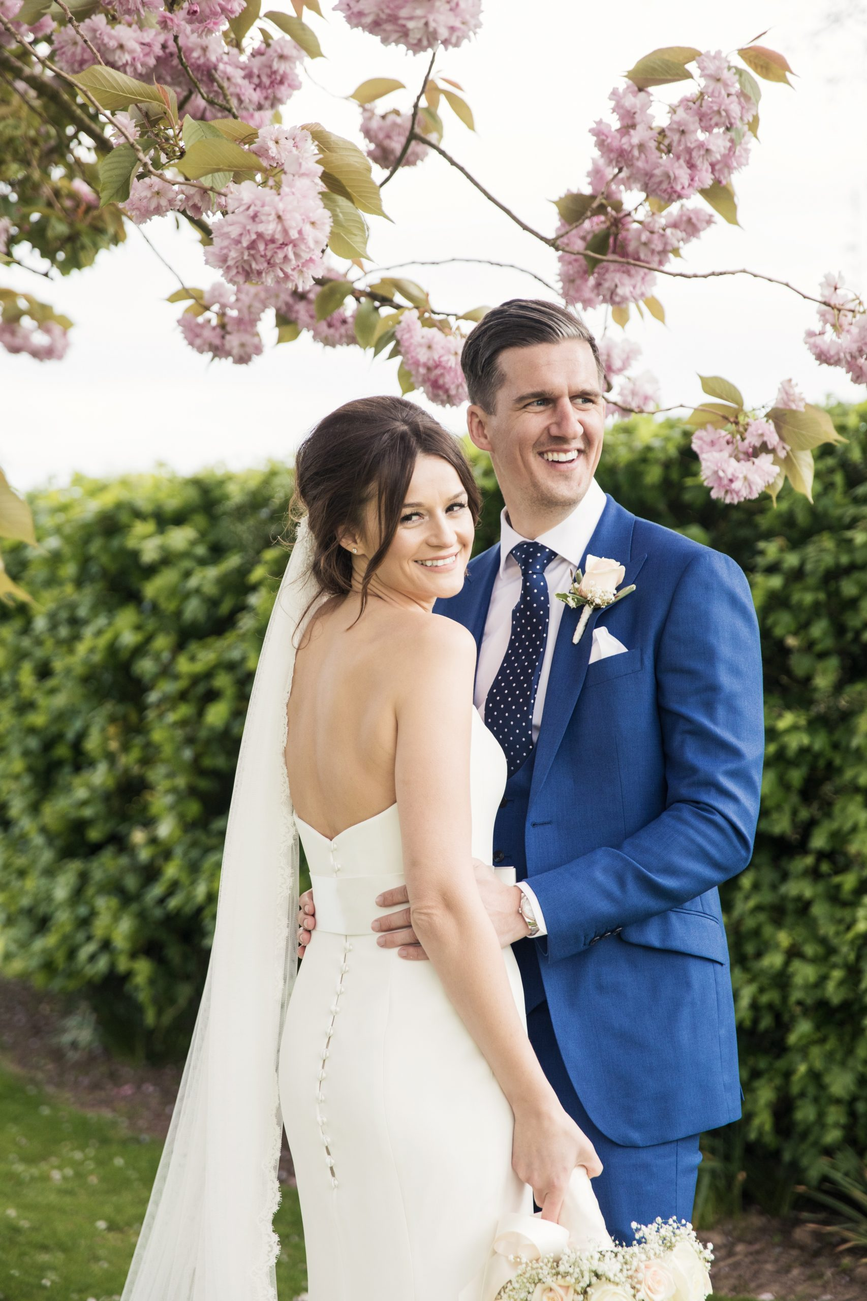 the old kent barn blossom tree wedding