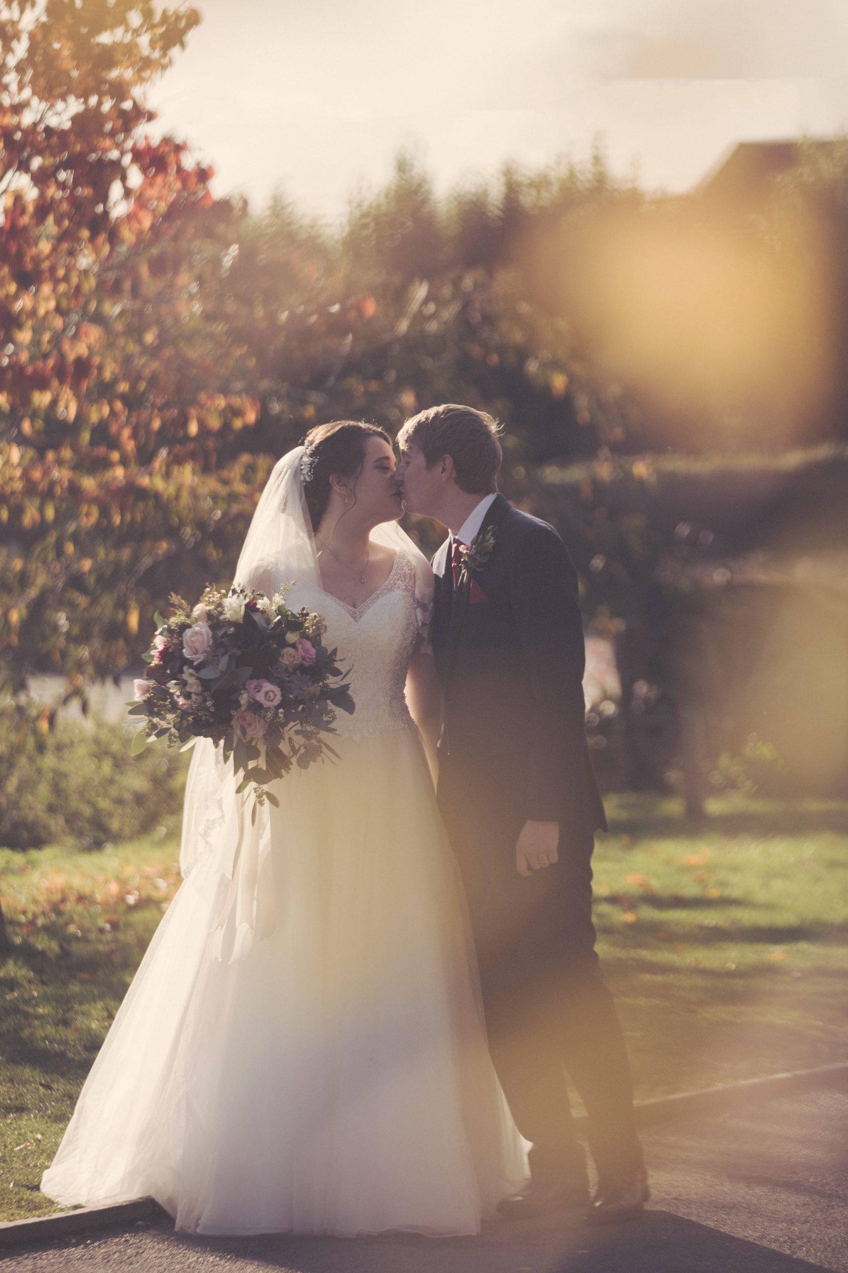 cooling castle barn wedding autumn