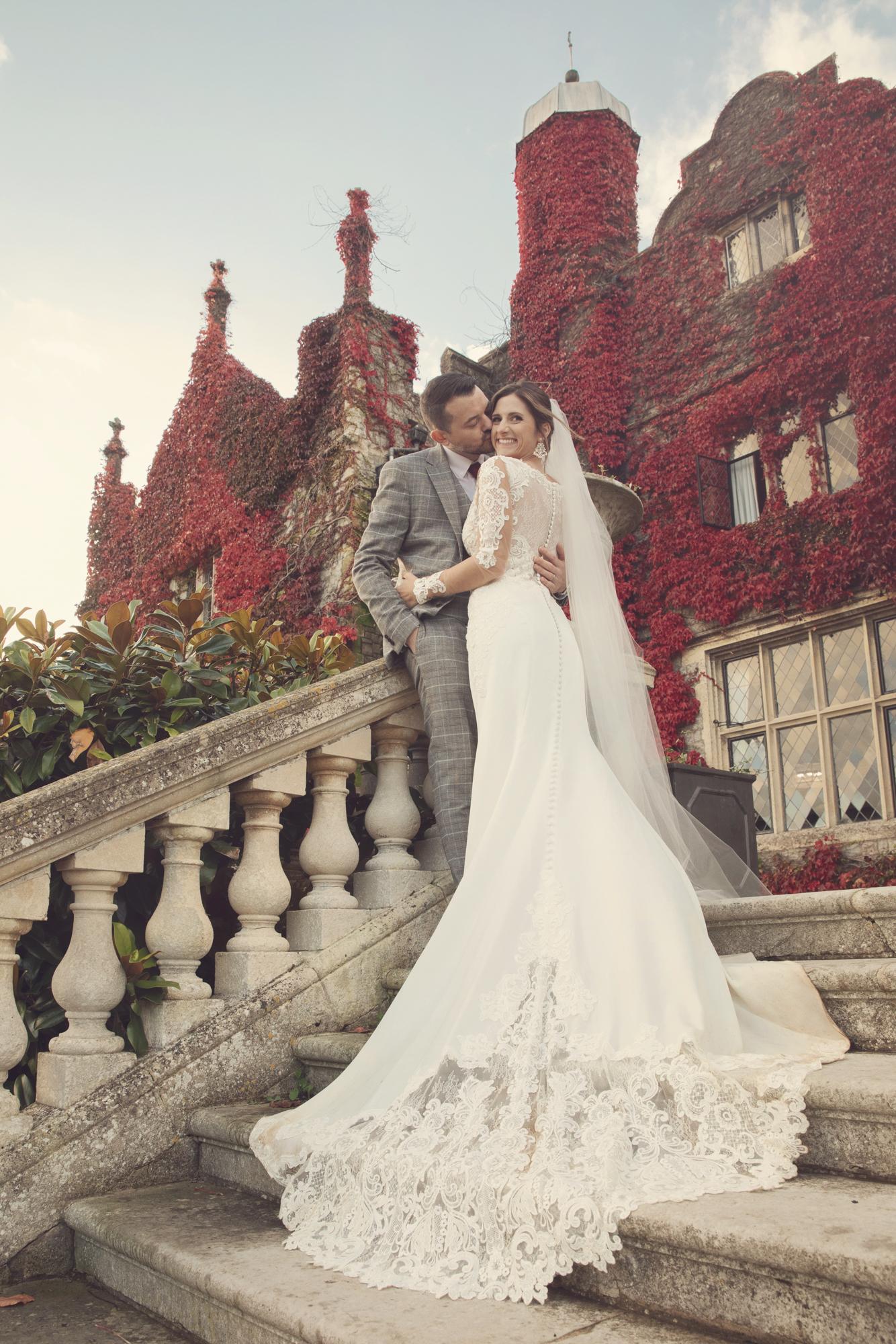 autumn eastwell manor photo wedding