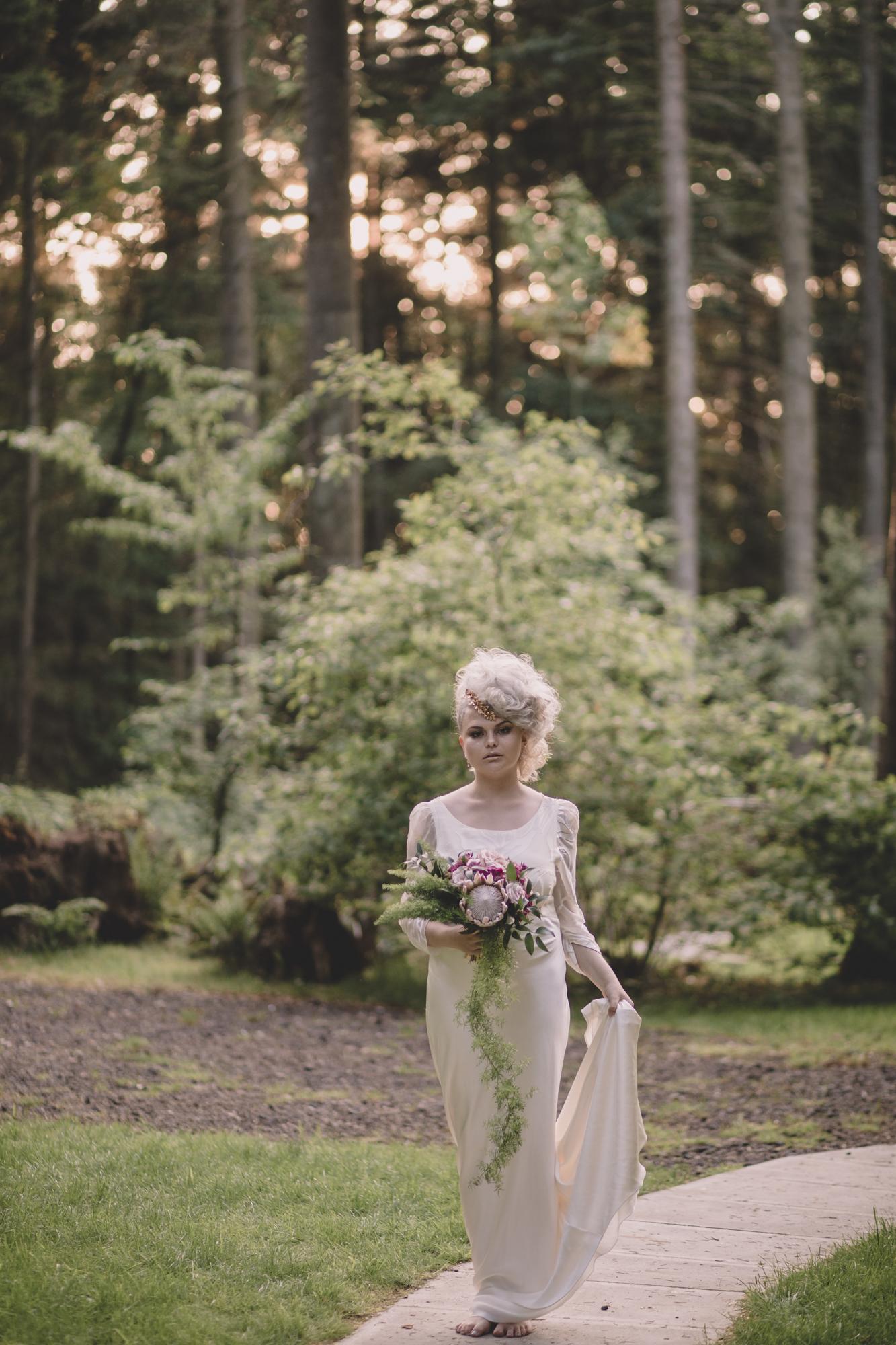 quirky bride longton wood kent