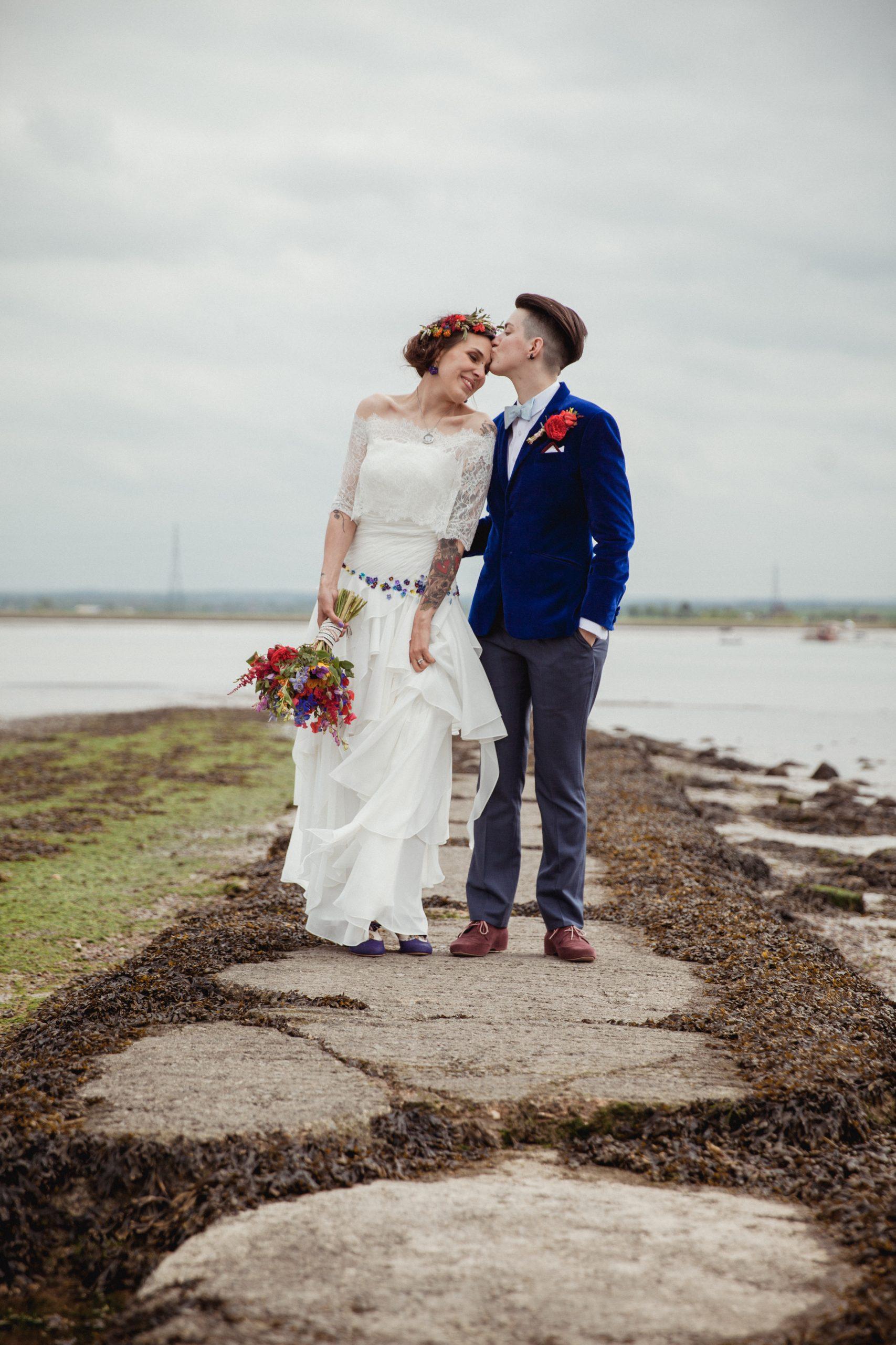 ferry house inn kent wedding photographer