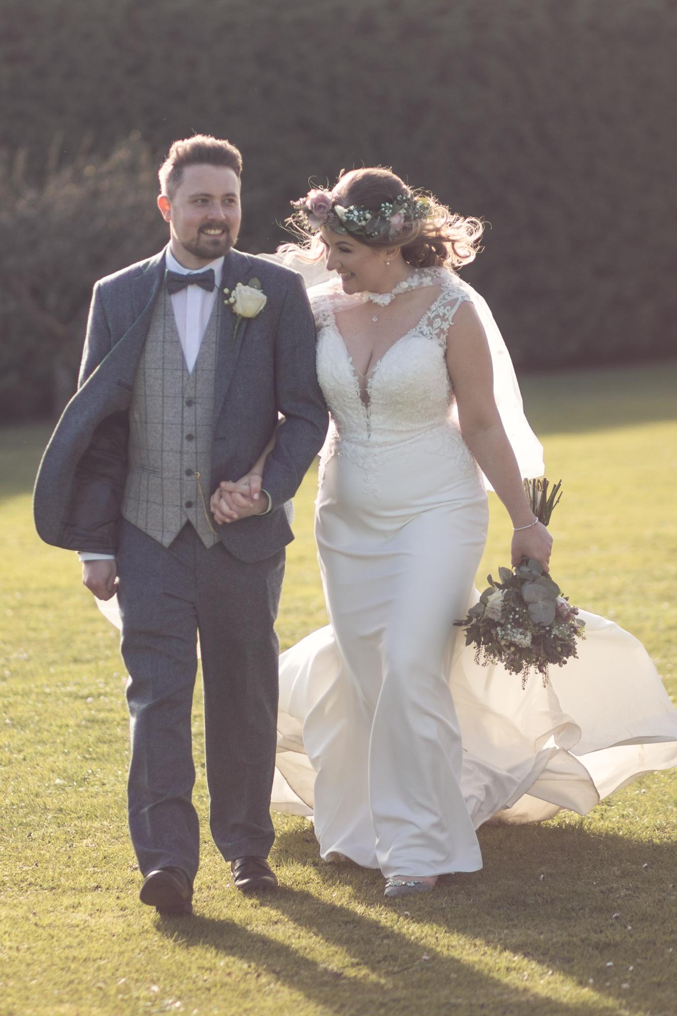 winters barns spring wedding kent photographer