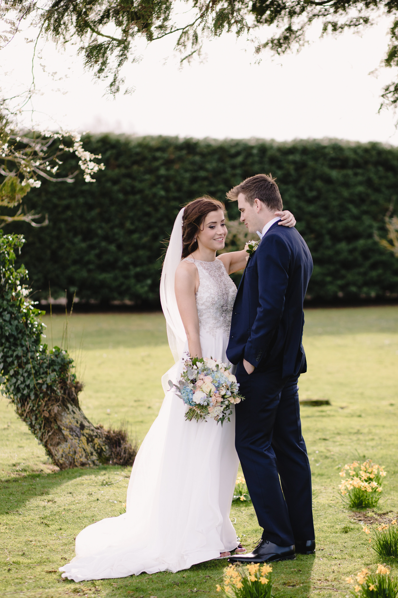 bride groom winters barns wedding venue kent