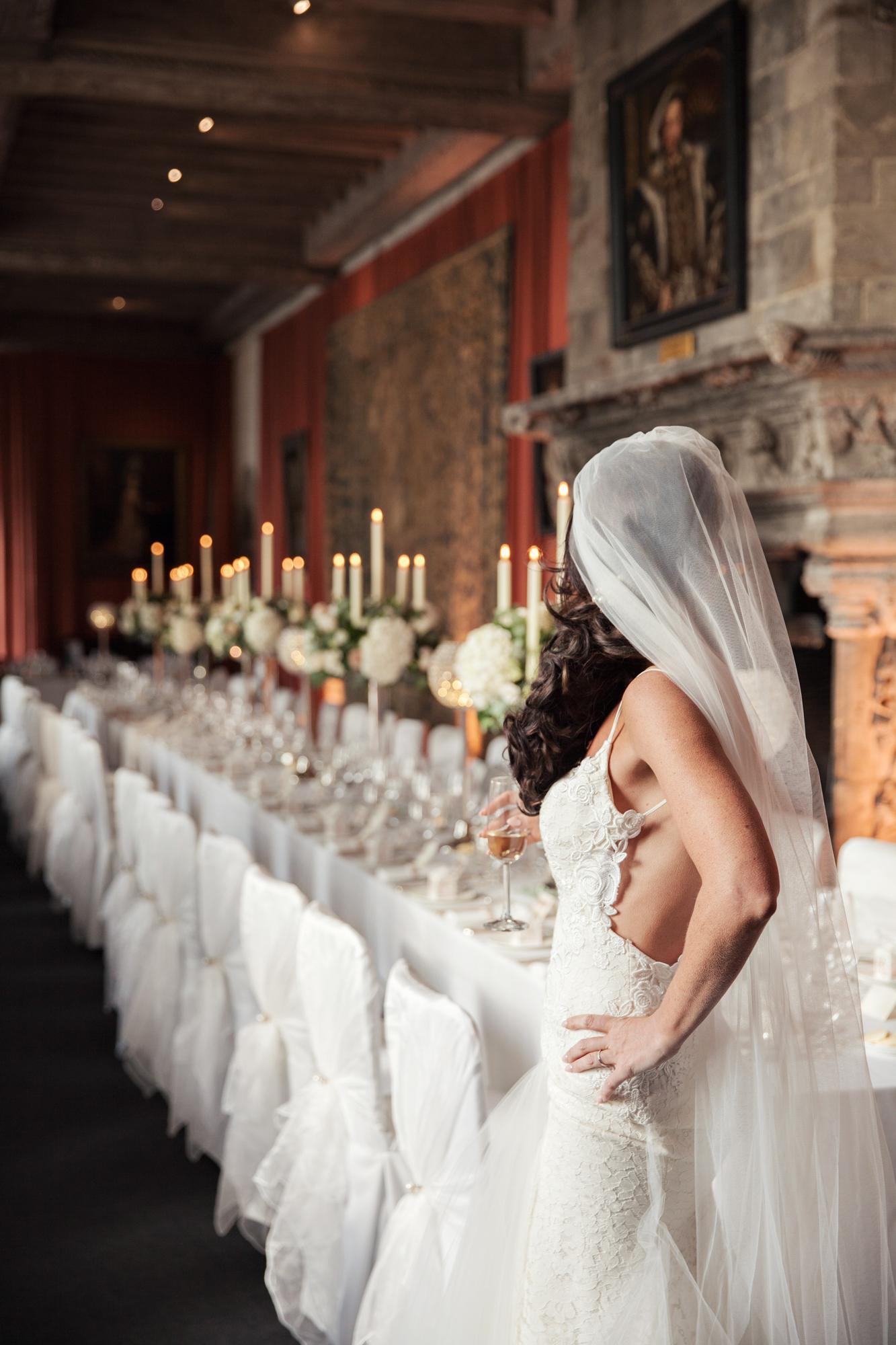leeds castle luxury wedding breakfast