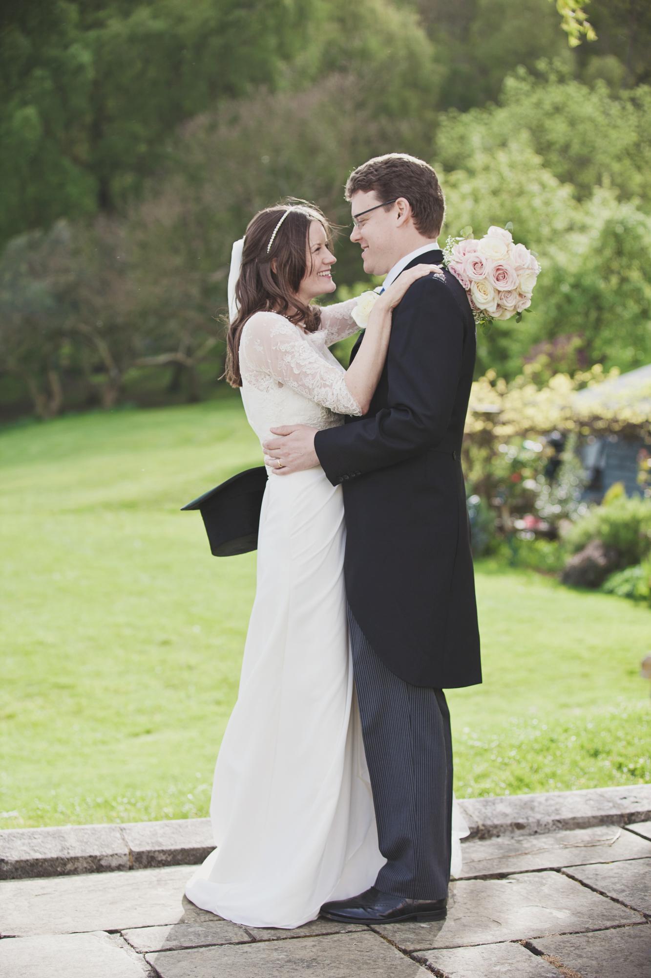 st julians club wedding couple top hat
