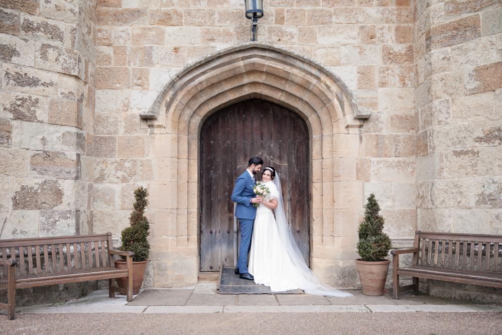 leeds castle winter wedding