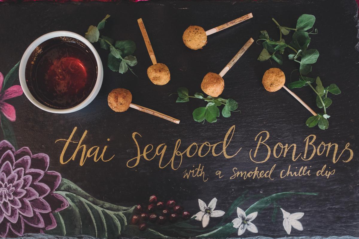 seafood bon bon canapes