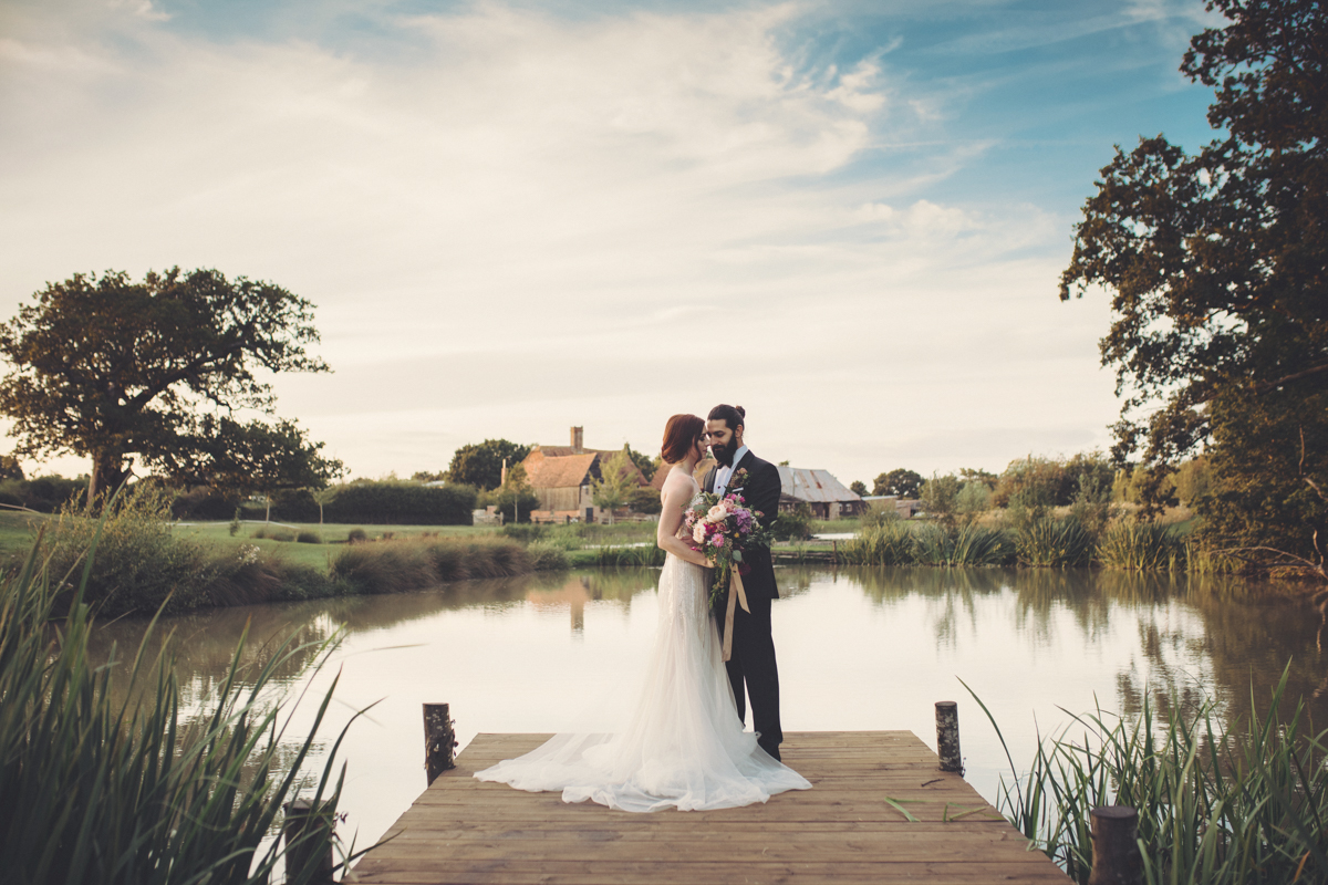 english barn wedding