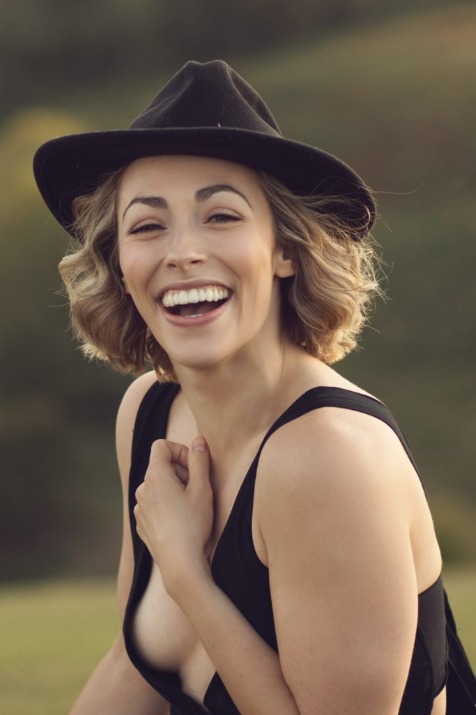 pretty girl in hat longton wood