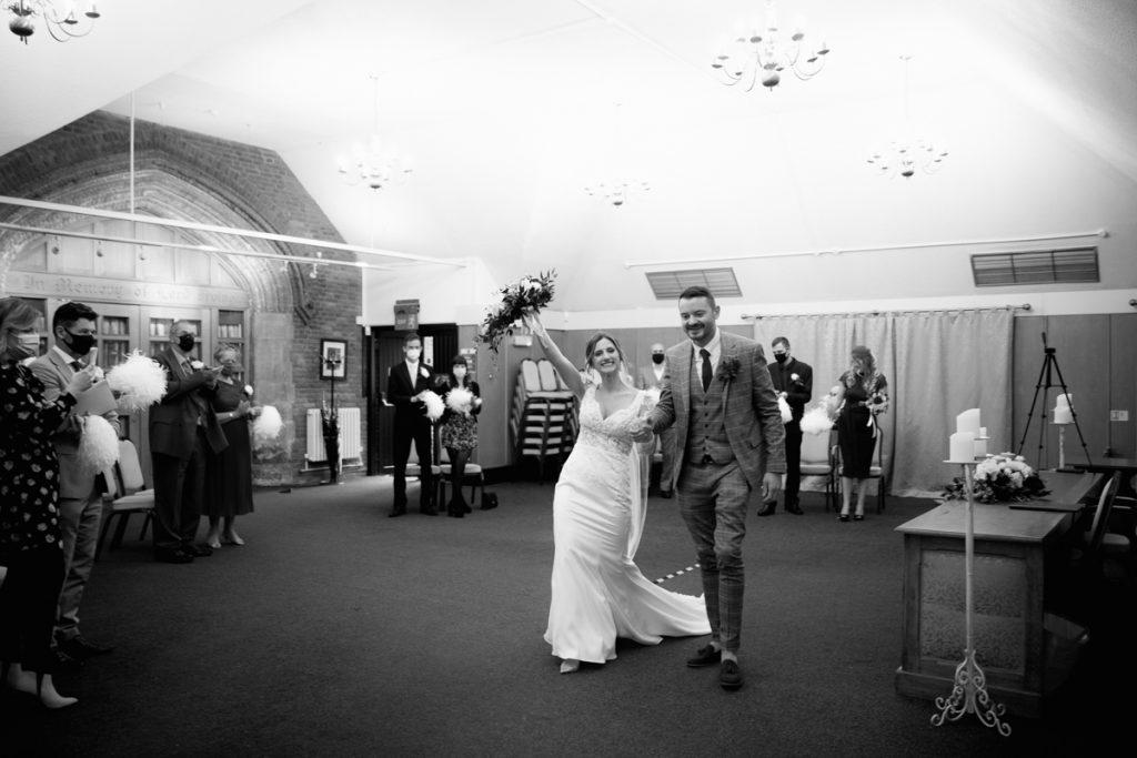 manor house registry office covid wedding