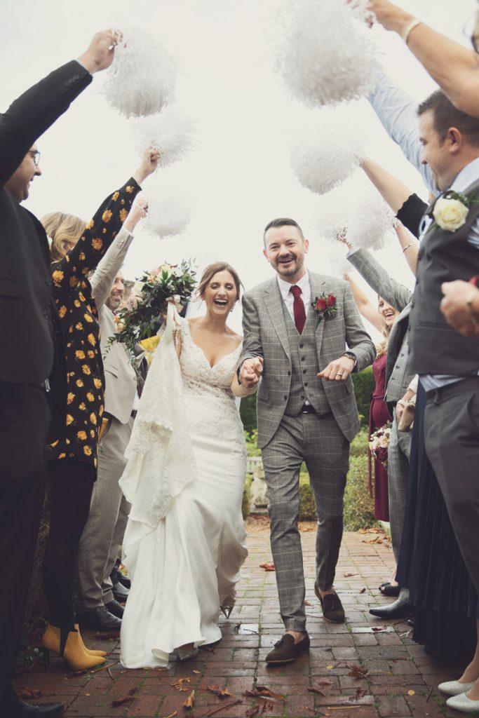 confetti alternative manor gatehouse wedding