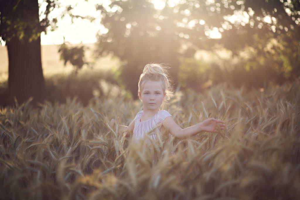 girl portrait kent field