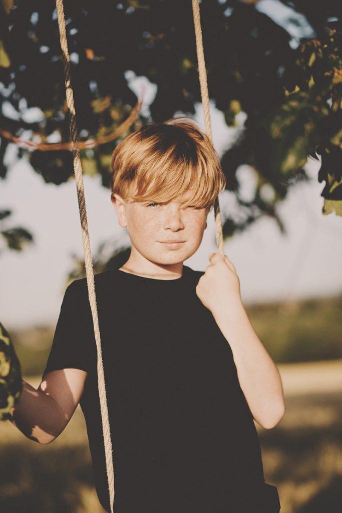 child portrait kent field
