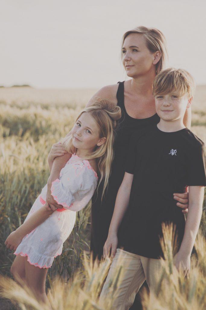 family portrait kent wheat field