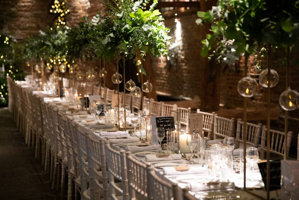 cooling castle table setting