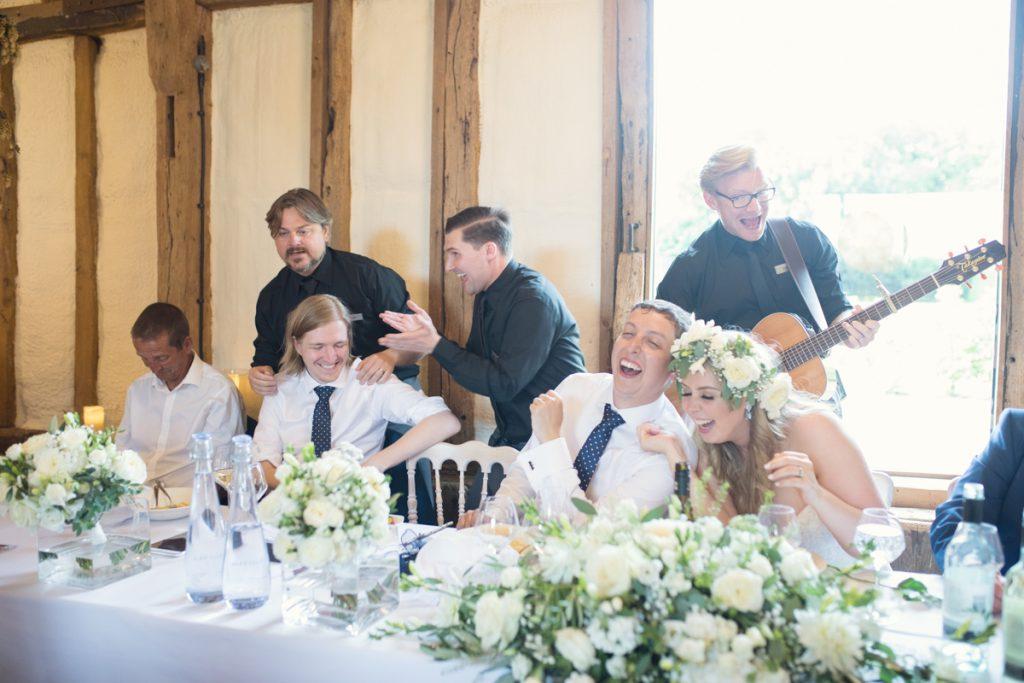singing waiters winters barns