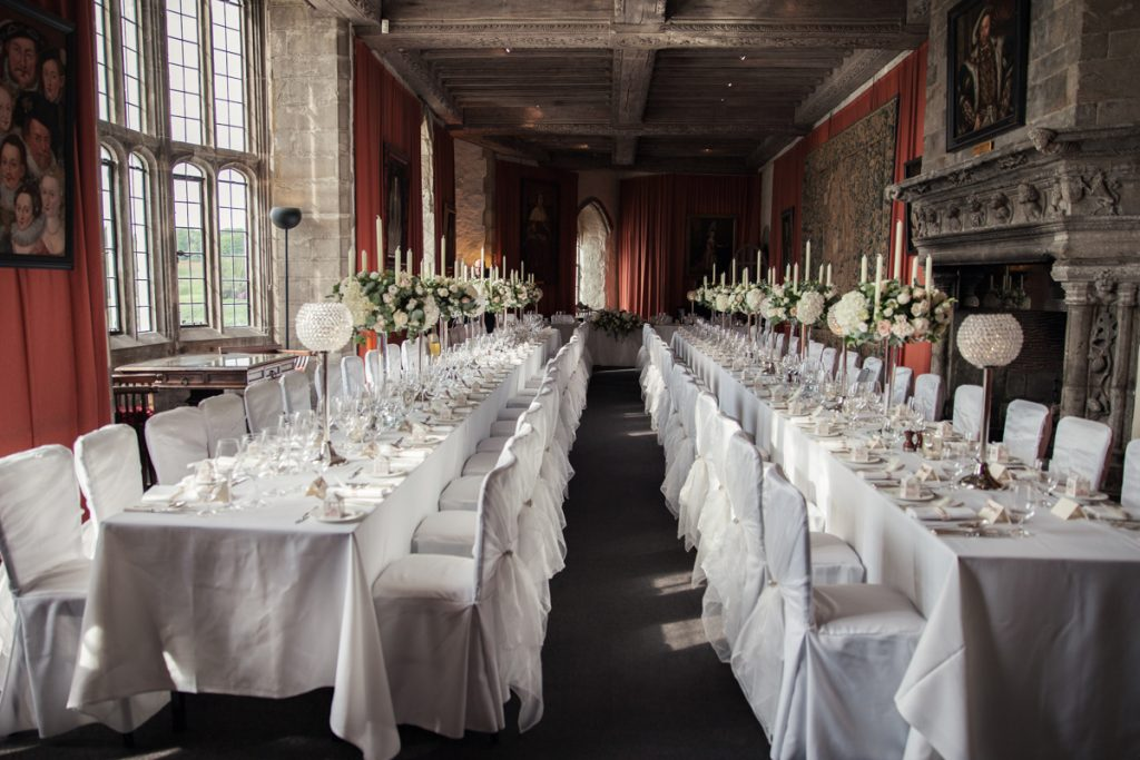 leeds castle banquetting hall