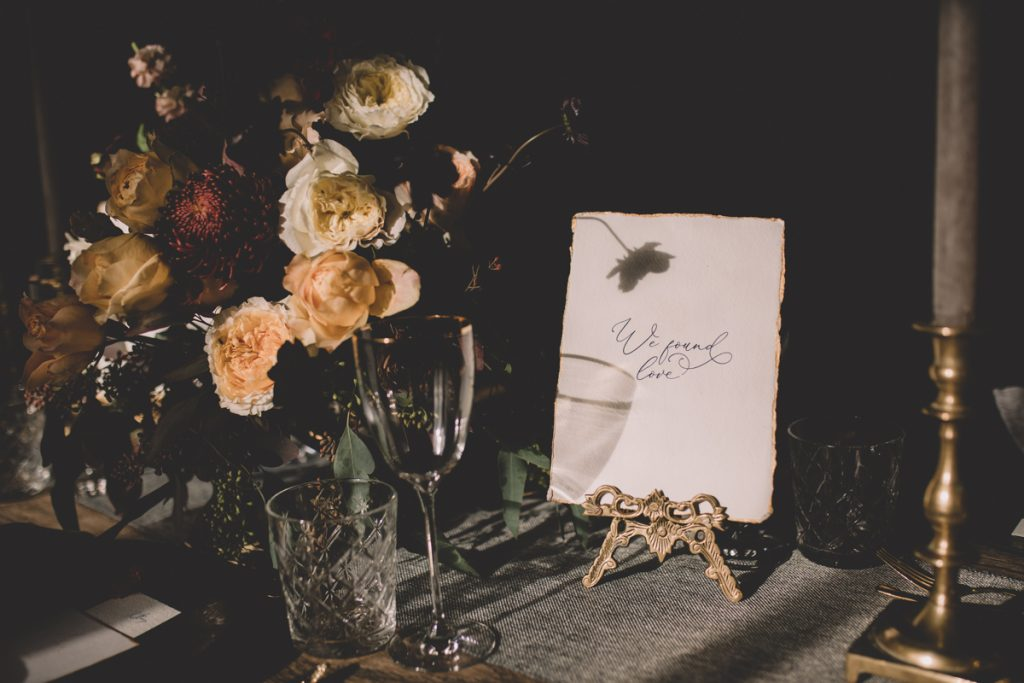 autumn table setting we found love